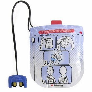 Defibtech Elektroden für Kinder zu AED VIEW / PRO / ECG