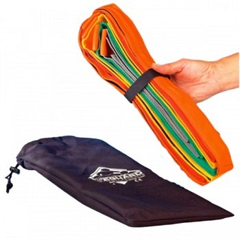 10-Punkt Fixiersystem inkl. Tasche - verstellbar