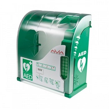 Aivia 210 - Indoor/Outdoor Schutzschrank mit Alarm, Heizung und Code