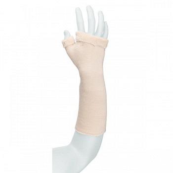 Frottee Arm-/Handpolster écru kurz - 35 cm