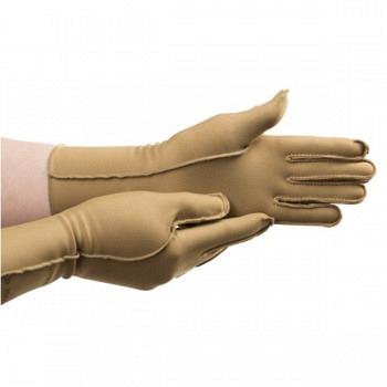 Isotoner Gloves, Woman's Short, Camel