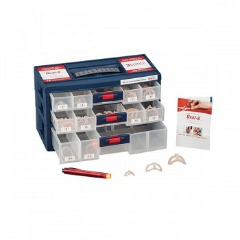 Oval 8 Finger Splints Complete Kit