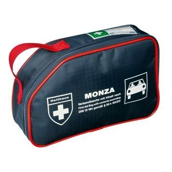 Monza Verbandtasche, gefüllt nach DIN13164