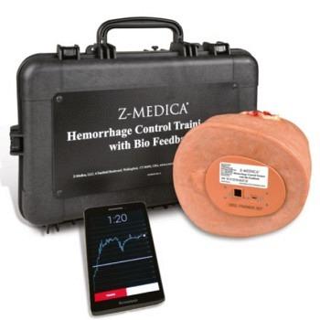 QuikClot Hemorrhage Control Training Kit with BioFeedback