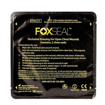 FOX Chest Seal - 2er Pack