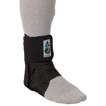ASO Sport Ankle Brace Knöchelorthese - schwarz